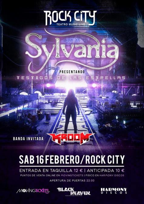 Sylvania + Kroom - 16/02/2019 - Rock City (Valencia)