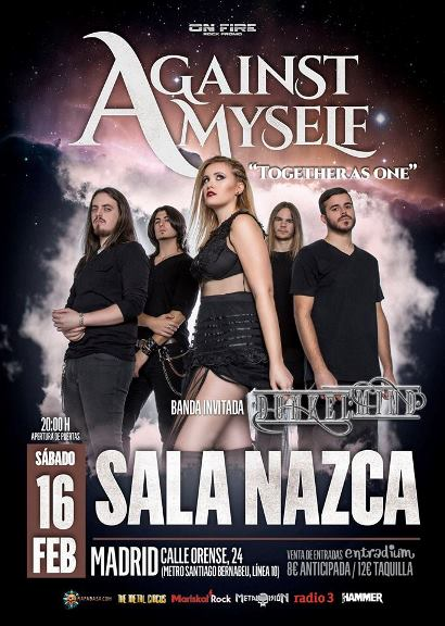 Against Myself + Dunkelmind - 16/02/2019 - Sala Nazca (Madrid)