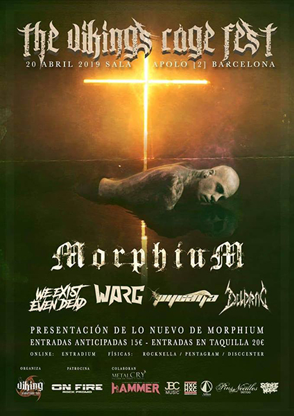 (The Viking's Rage Fest) - 20/04/2018 - Sala Apolo 2 (Bcn)