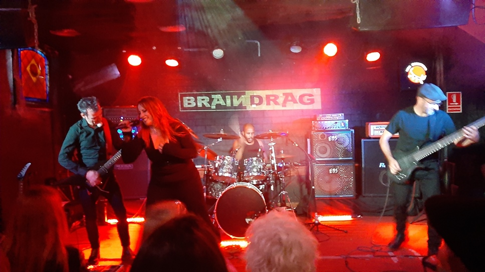 BrainDrag + Seventh Hell - (20/09/2019) - Sala Monasterio (Bcn)