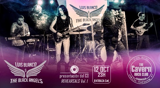 Luis Blanco and the Black Angels - 12/10/2019 - The Cavern (Terrassa)