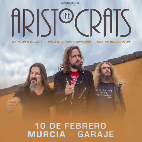 The Aristocrats - 10/02/2020 - Sala Garaje Beat Club (Murcia)