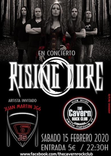 Rising Core + Juan Martín JG6 - 15/02/2020 - The Cavern (Terrassa)