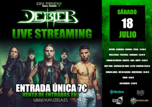 Debler - 18/07/2020 - Vuvuzela Live Streaming