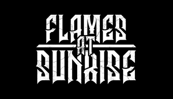 Flames at Sunrise Type: logo