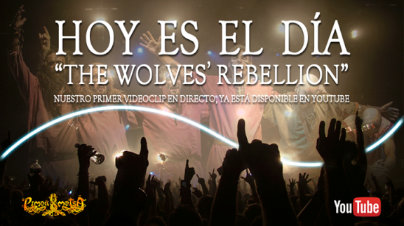 The Wolves' Rebellion, videoclip en directe de Pimeä Metsä
