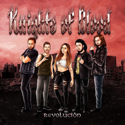 Knights of Blood presenta su formación y EP