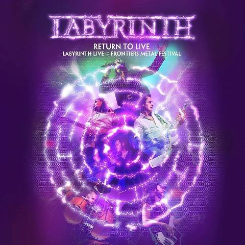 Disco en directo de Labyrinth