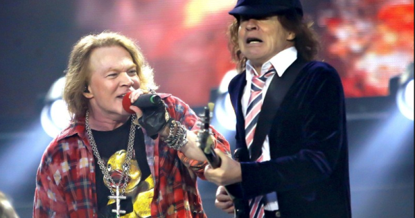 Posible nuevo disco y tour de AC/DC con Axl Rose