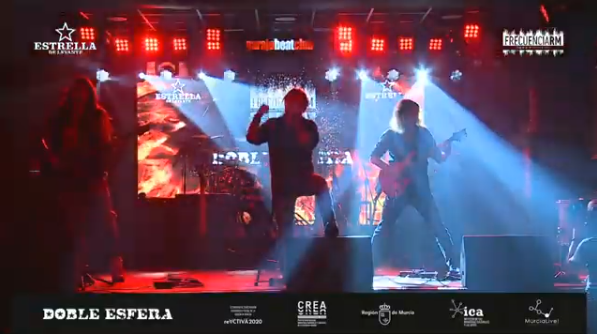 Video del concierto en Streaming de Doble Esfera