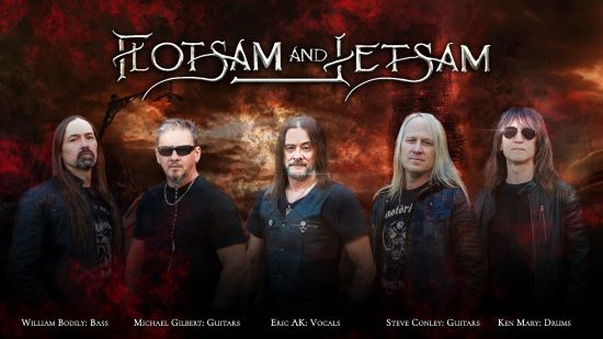 Flotsam And Jetsam té data per al seu nou disc